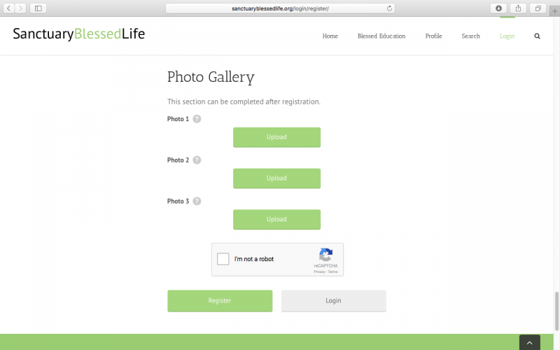 What kind of photos should I upload to my photo gallery? - Sanctuary Blessed Life - Blessing & Matching Directory